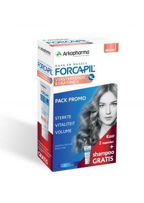 Promo pack (versterkende keratine + & versterkende shampoo)