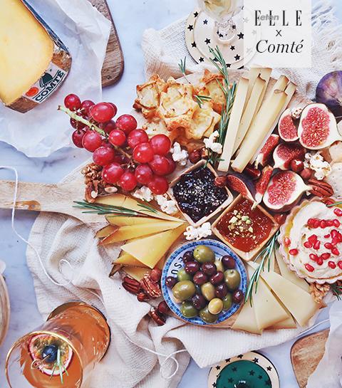 Zo stel je de perfecte kaasplank samen voor tijdens de feesten!