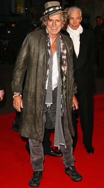 Keith Richards Justin Timberlake best dressed