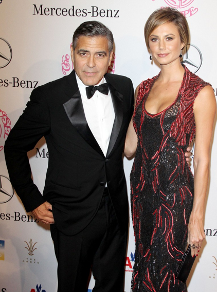 Georges Clooney Stacy Keibler