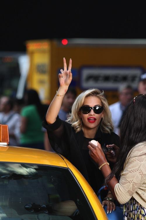 Rita Ora DKNY 1