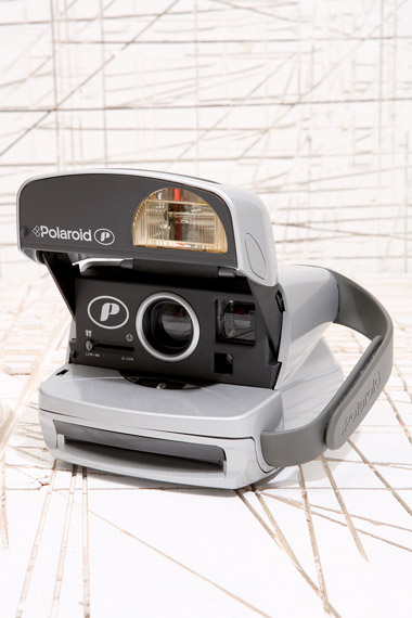Silver Polaroid