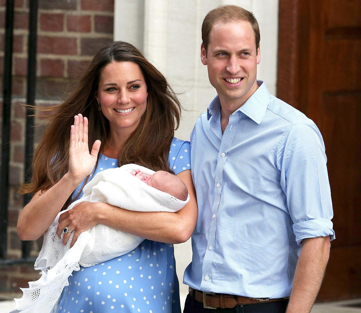 Van geboorte tot eerste foto's: de Royal Baby van A tot Z