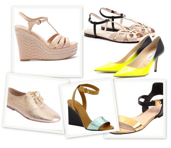 Basic shopping: met 8 paar schoenen de hele zomer door