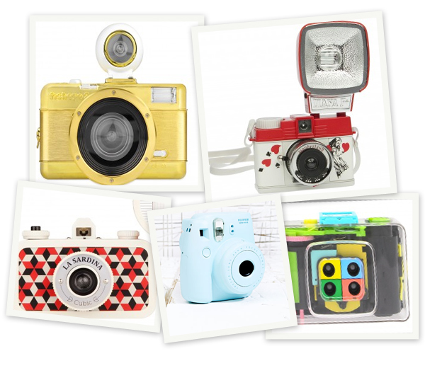 Vintage shopping: 10 analoge camera's