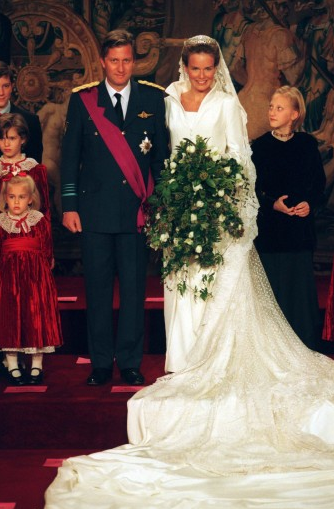 trouwjurk prinses Mathilde