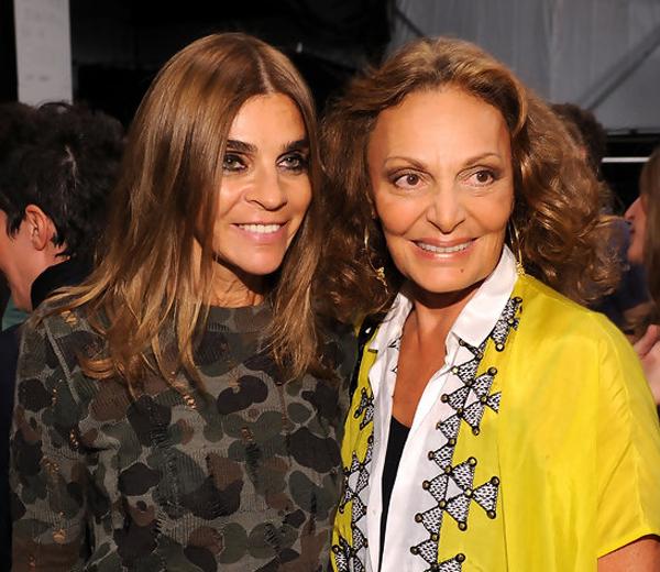 Carine Roitfeld en Daria Werbowy voor Diane von Fürstenberg
