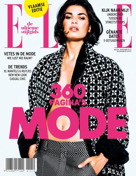 Cover ELLE september 2013