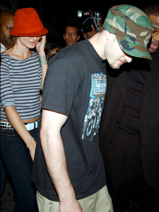 MTV AWARDS PRE PARTY AT SUEDE, NEW YORK, AMERICA - 27 AUG 2003
