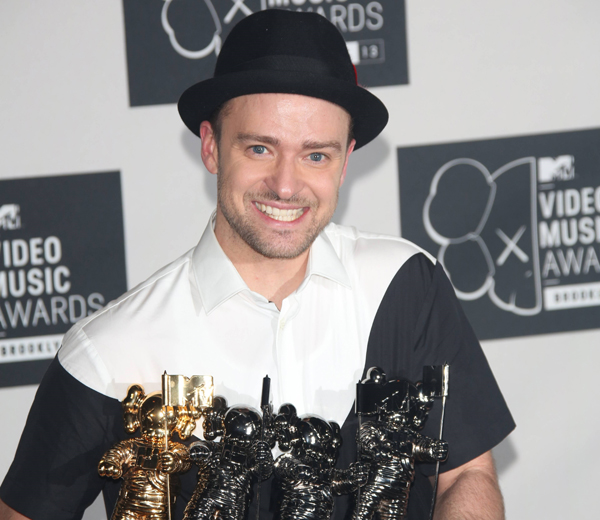 Justin Timberlake domineert de MTV Video Music Awards