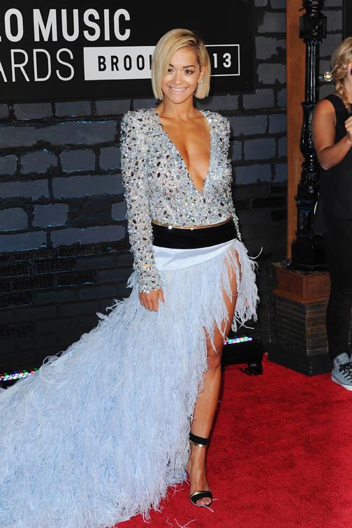 Rita Ora in Alex Vauthier