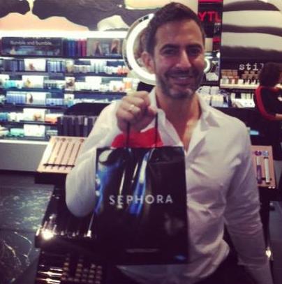 Marc Jacobs shopt zelf bij Sephora