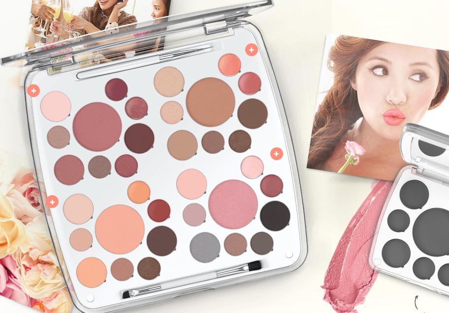 The Life Palette van EM Cosmetics