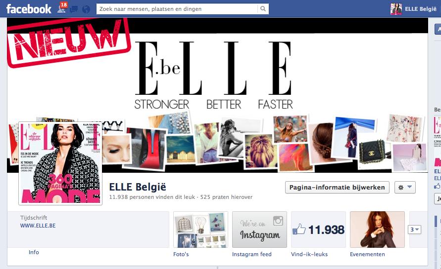 Facebook ELLE
