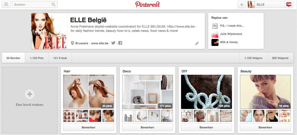 Pinterest ELLE