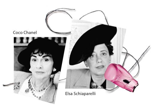 Coco Chanel <> Elsa Schiaparelli