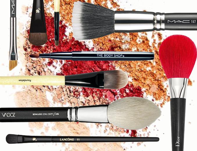 5 make-up borstels voor gevorderden