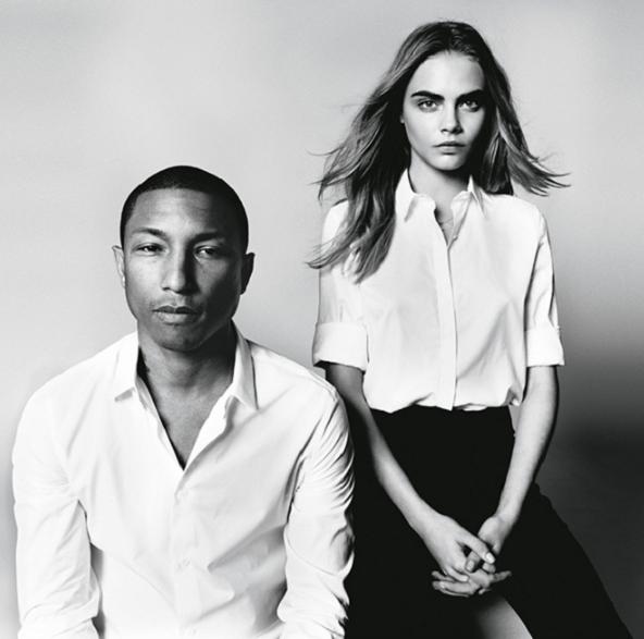 WATCH: Cara Delevingne en Pharrell Williams voor Vogue - 2
