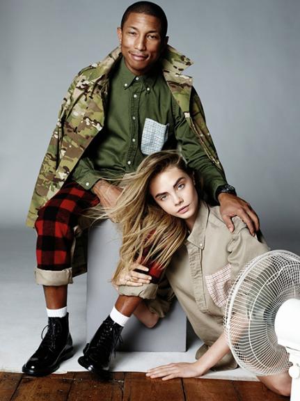 WATCH: Cara Delevingne en Pharrell Williams voor Vogue - 3