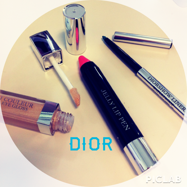 Dior - Eye Gloss - 530 Dior - Jelly Lip Pen - 476 Dior - Waterproof eyeliner - 348