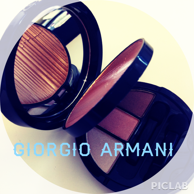 Giorgio Armani - Summer 2013 - face & eye palette