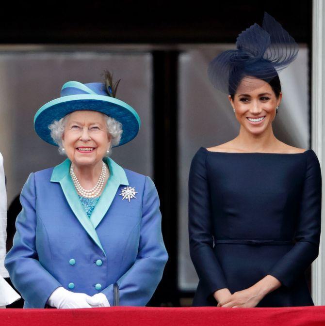 meghan markle queen elisabeth celebrity nieuws