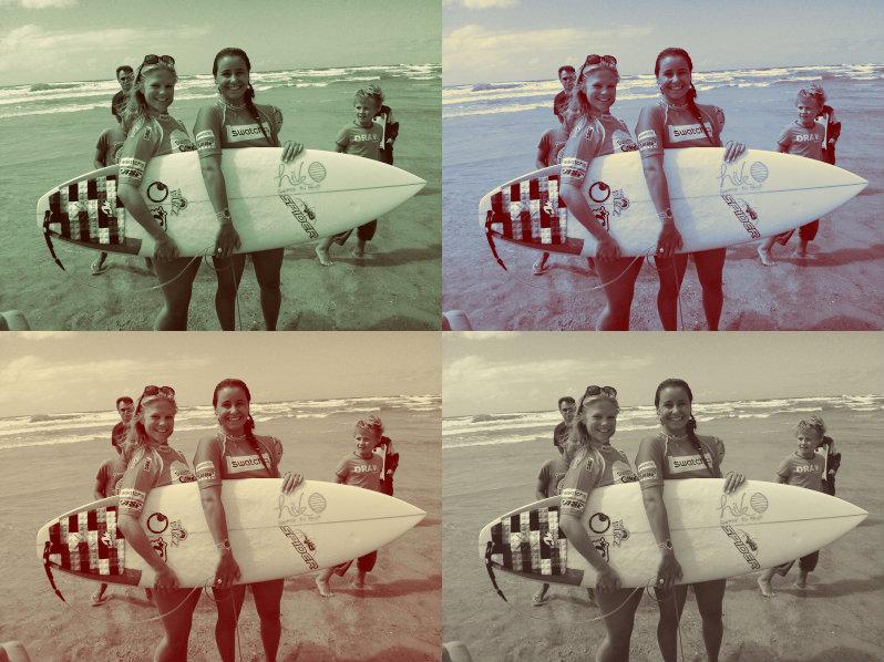 Surf chick me: ELLE.be verovert de golven