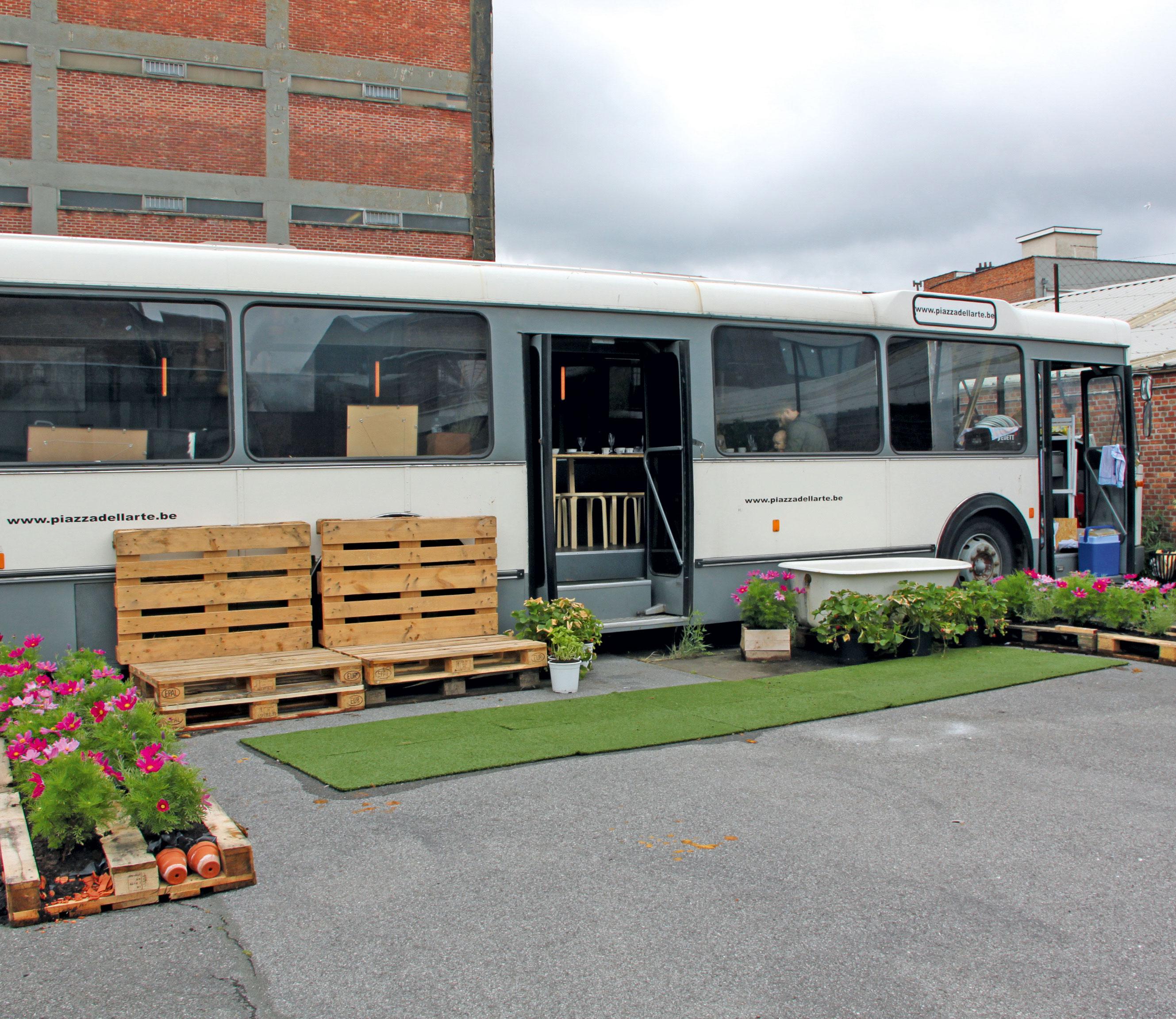 Hotspot Antwerpen: rijdend restaurant
