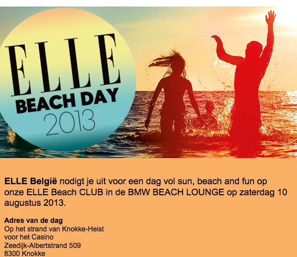 AGENDA: ELLE beach club