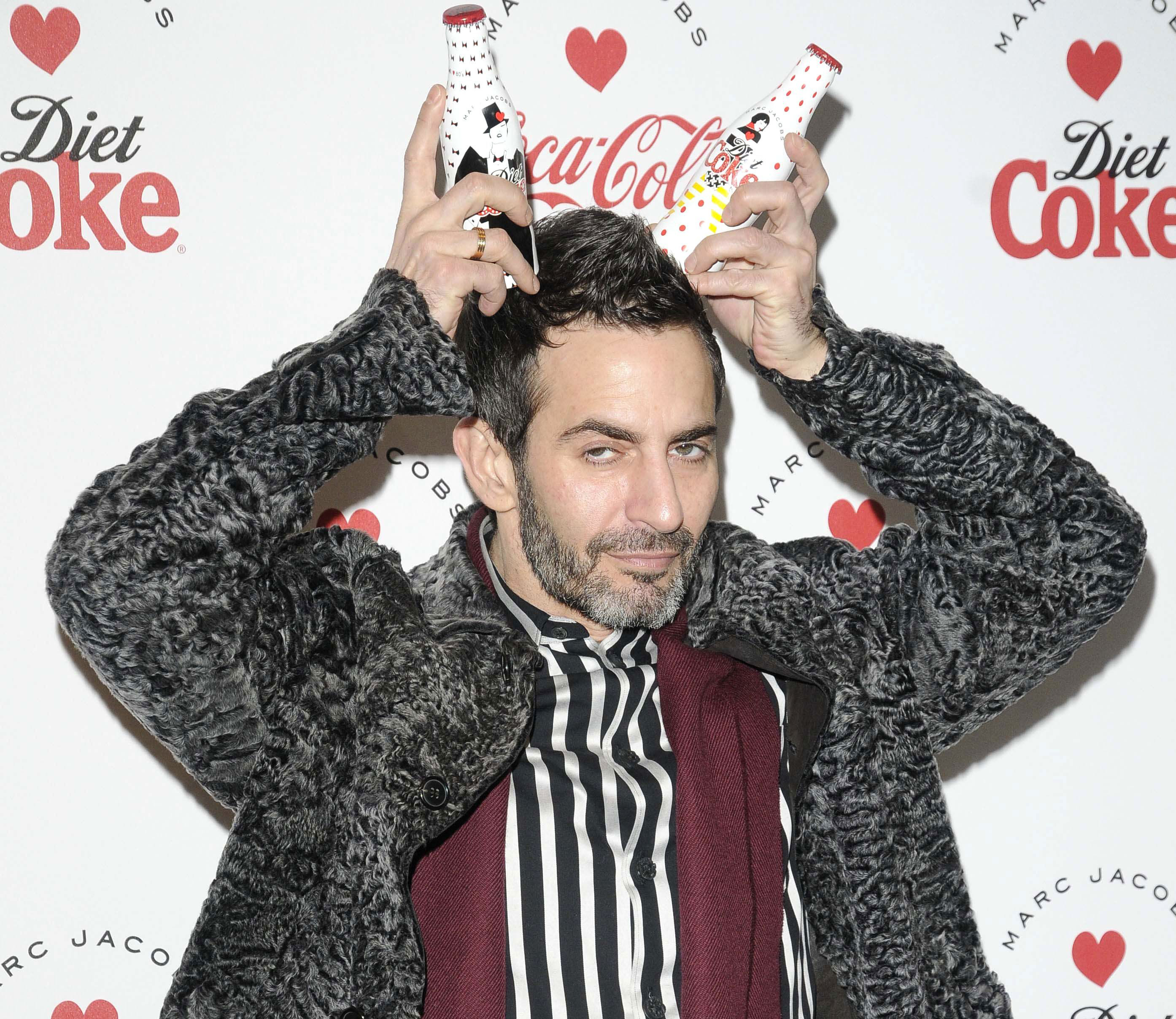 diet coke and marc jacobs partnership launch party, german gymnasium, london, britain - 11 mar 2013, ,