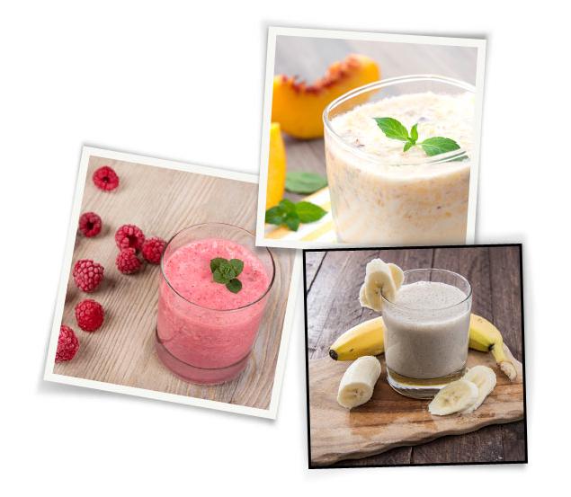 3 energierijke smoothies voor het ontbijt