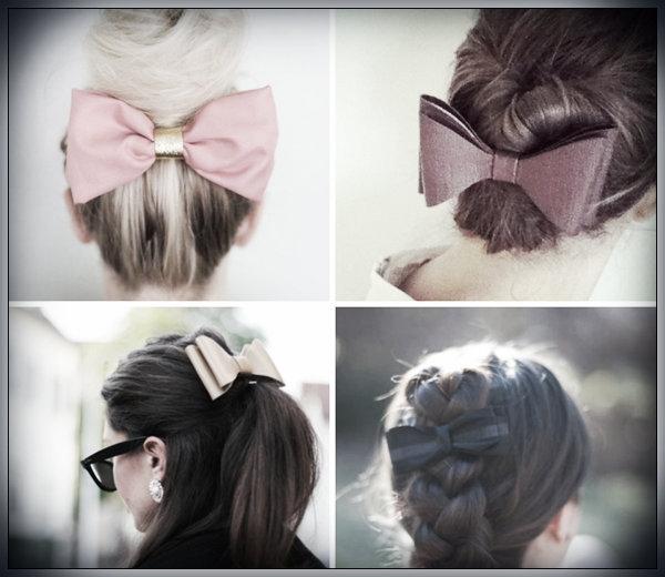 Pinspiration: 10 manieren om de haarstrik te dragen