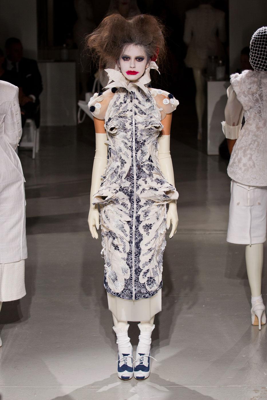 Elisabethaanse couture bij Thom Browne