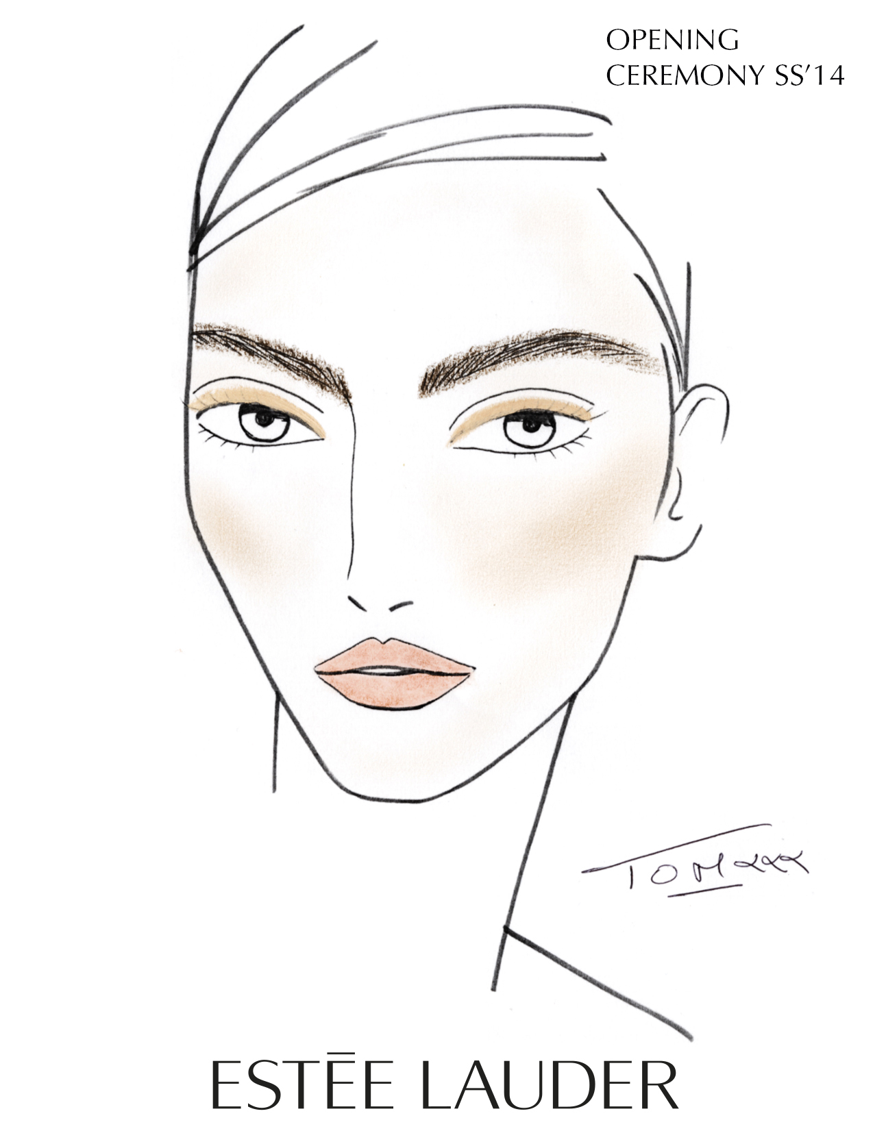 Face Chart_Opening Ceremony_Spring 2014