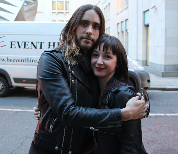 SPOTTED @ LFW: Jared Leto