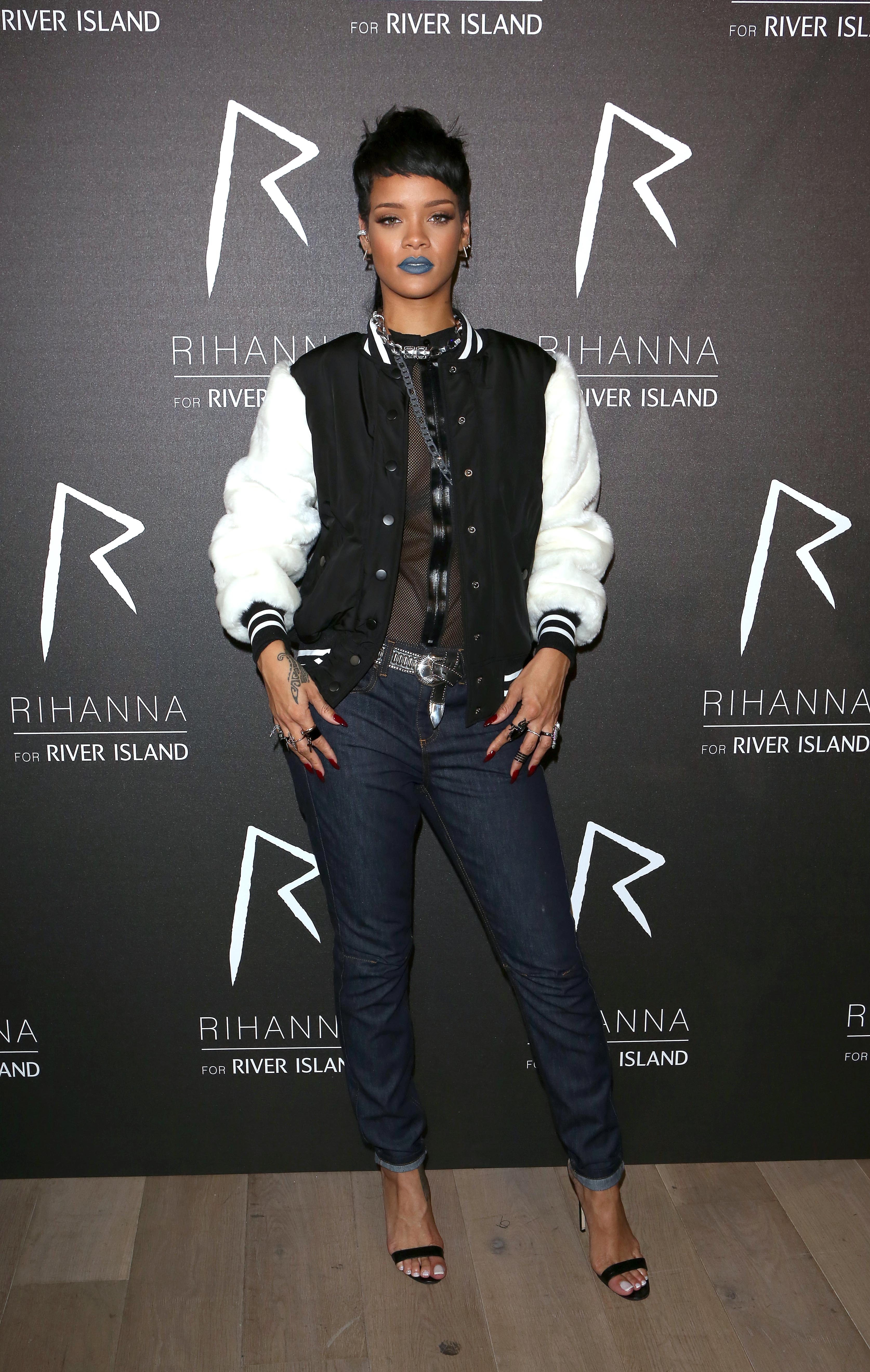 Rihanna for River Island event