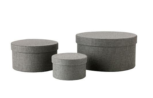 IKEA opbergdozenset van stof en karton - 12,99 €