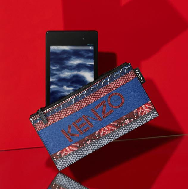 Kenzo doet het met Google tijdens Parijse modeweek