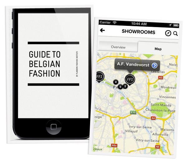 App leidt je rechtstreeks naar de Belgen op Parijse modeweek
