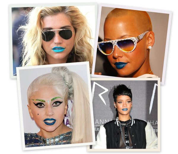 HOT or NOT: blauwe lippen