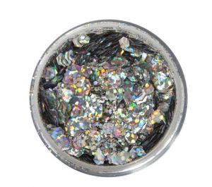 glitter make-up beauty looks