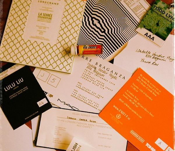 Stap 1: de uitnodigingen…