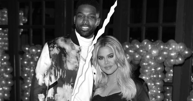 Khloe Kardashian Tristan break-up relatie
