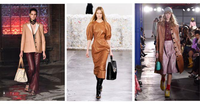 leder trends new york fashion week