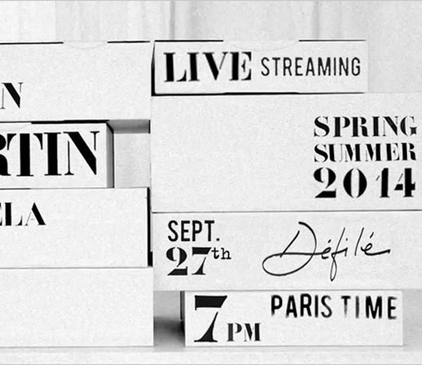 Volg het defilé van Maison Martin Margiela live