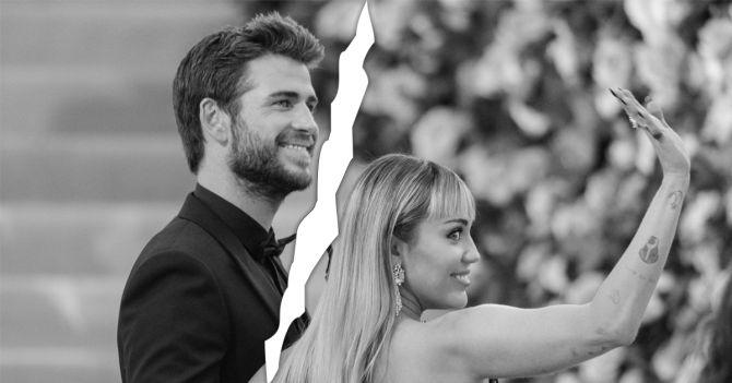 Miley Cyrus Liam Hemsworth relatie breuk