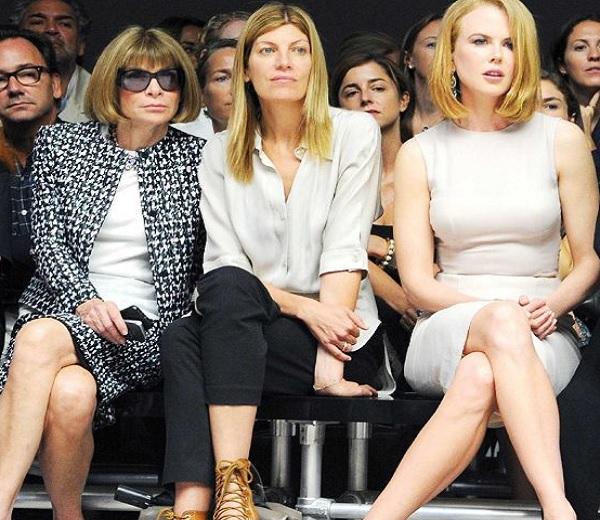 De val van Nicole Kidman tijdens NYFW