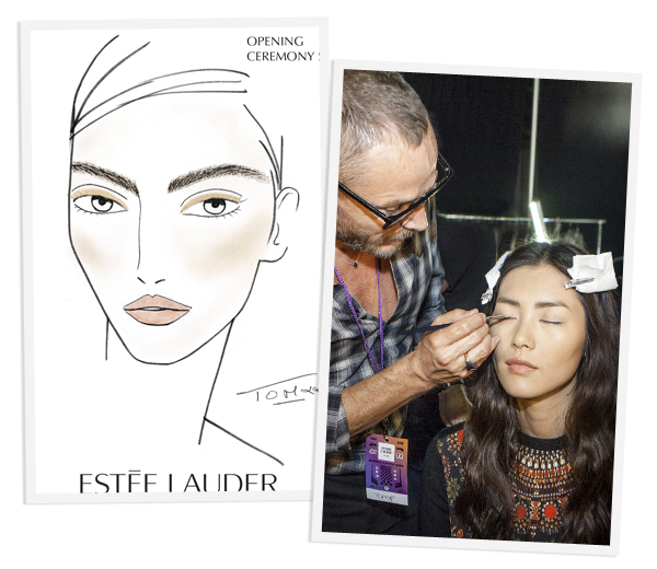 BACKSTAGE BEAUTY: Opening Ceremony