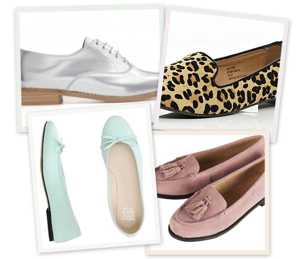 10 platte schoenen aan minder dan 100€