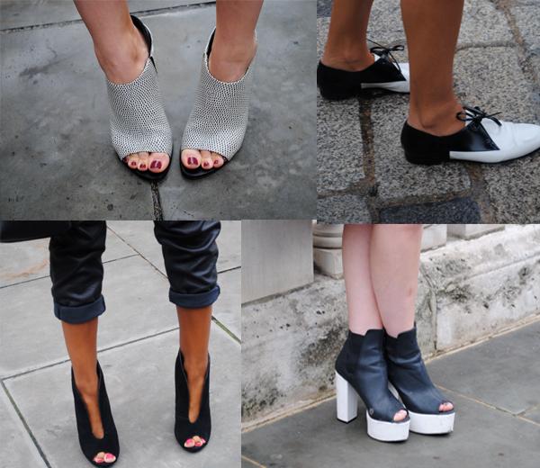 Shoes shoes shoes @ LFW